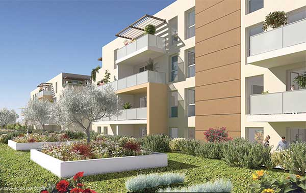 APPARTEMENT NEUF – T3 – NIMES – 224500 €